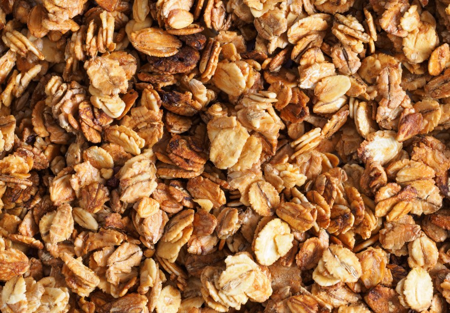 Granola com cacau low carb