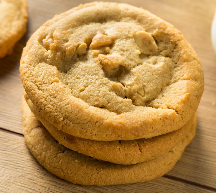 foto da receita Cookies de amendoim com maracujá low carb