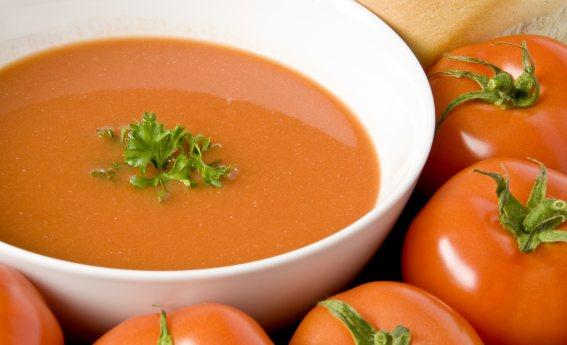 foto da receita Sopa de tomate