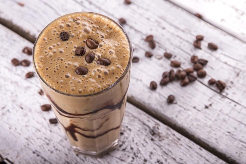foto da receita Smoothie de café