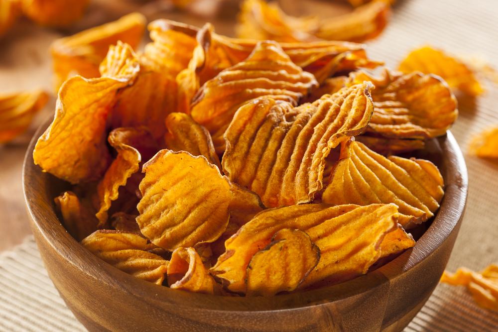 foto da receita Chips de Batata Doce