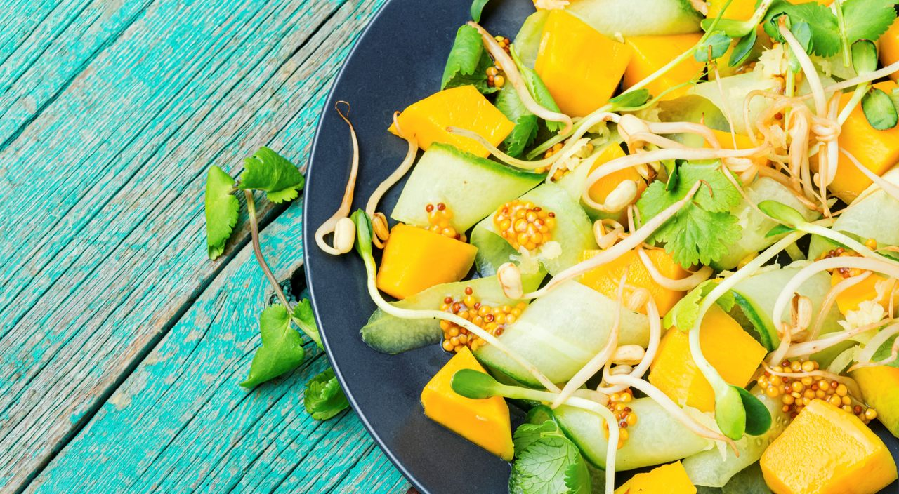 foto da receita Salada Verde Detox