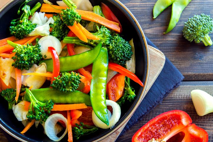 foto da receita Legumes cozidos com soja - modulação hormonal