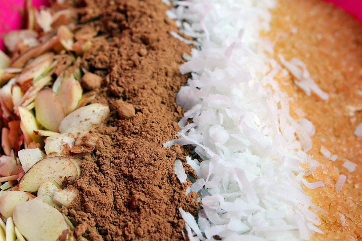 foto da receita Mix detox de fibras para acne