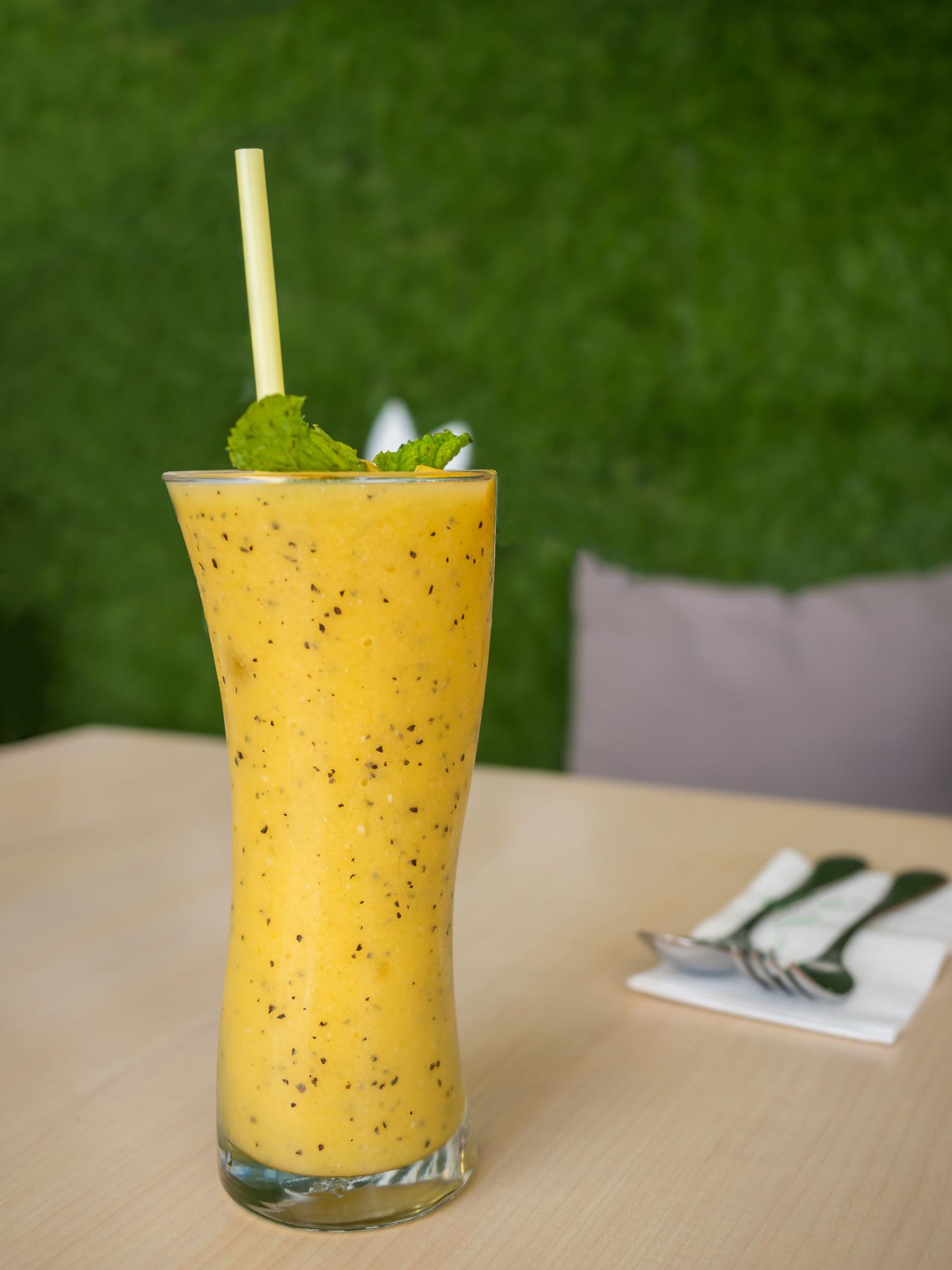 foto da receita Lassi de maracujá