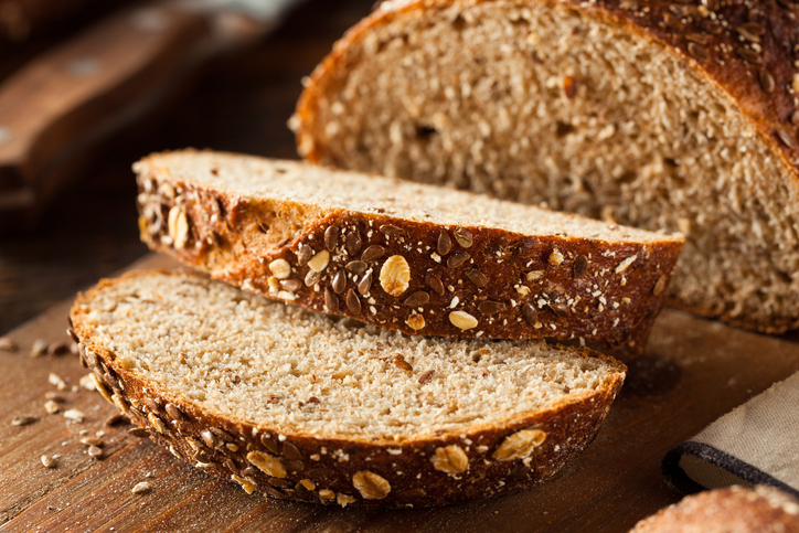 Pão integral de Chia & Linhaça