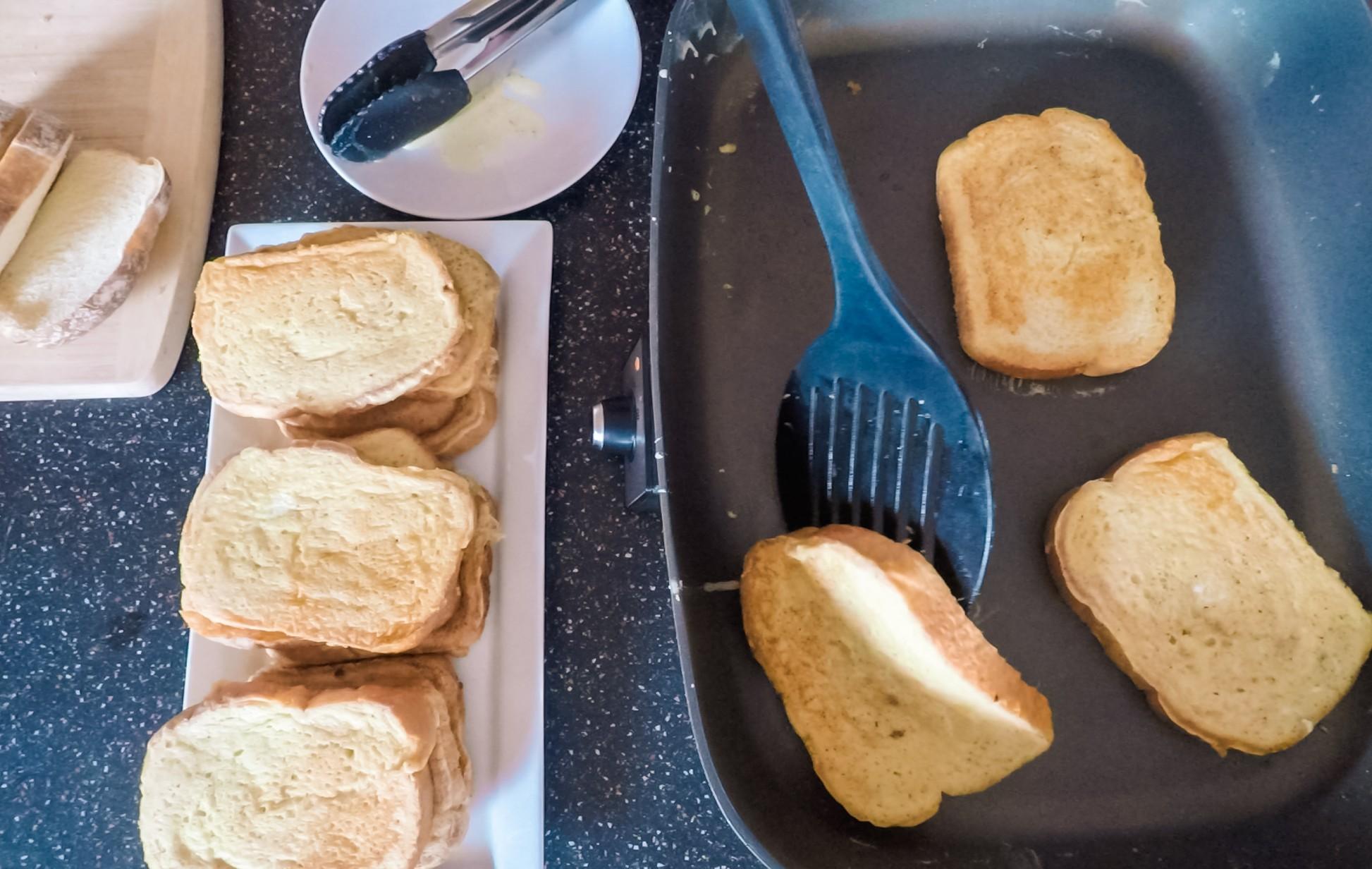 pão low carb de frigideira