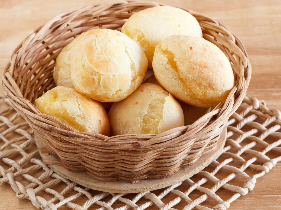 Pão de queijo Low carb (com mussarela)