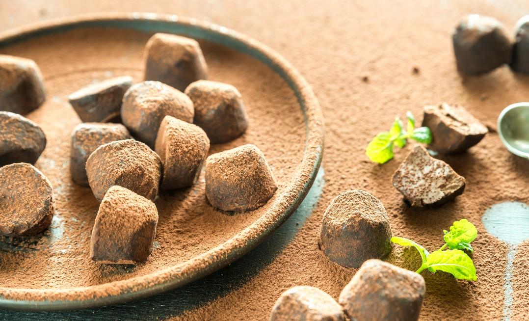 foto da receita Trufa Low Carb (Chocolate com Nuts)
