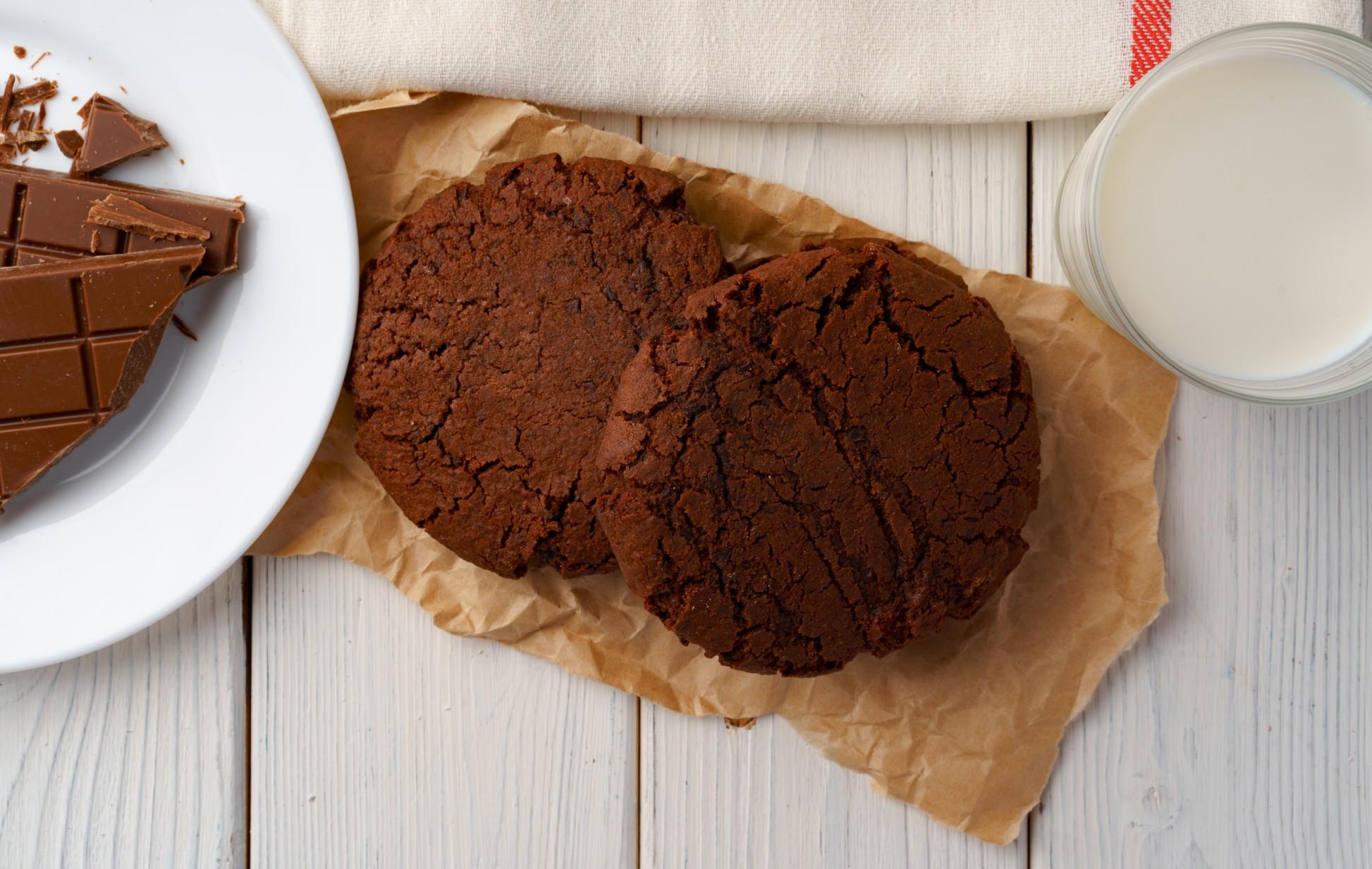 foto da receita Cookie low carb de Chocolate