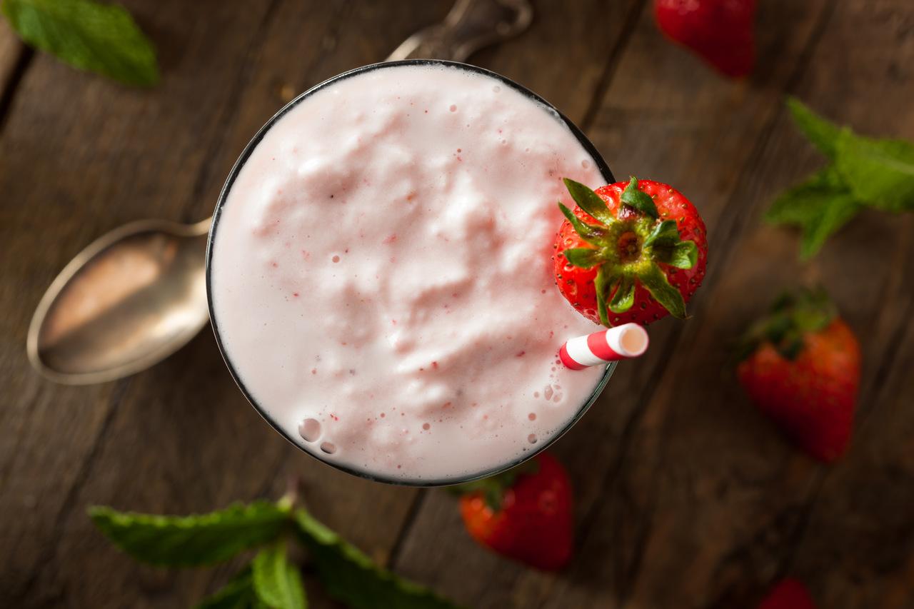 Milkshake low carb vegano