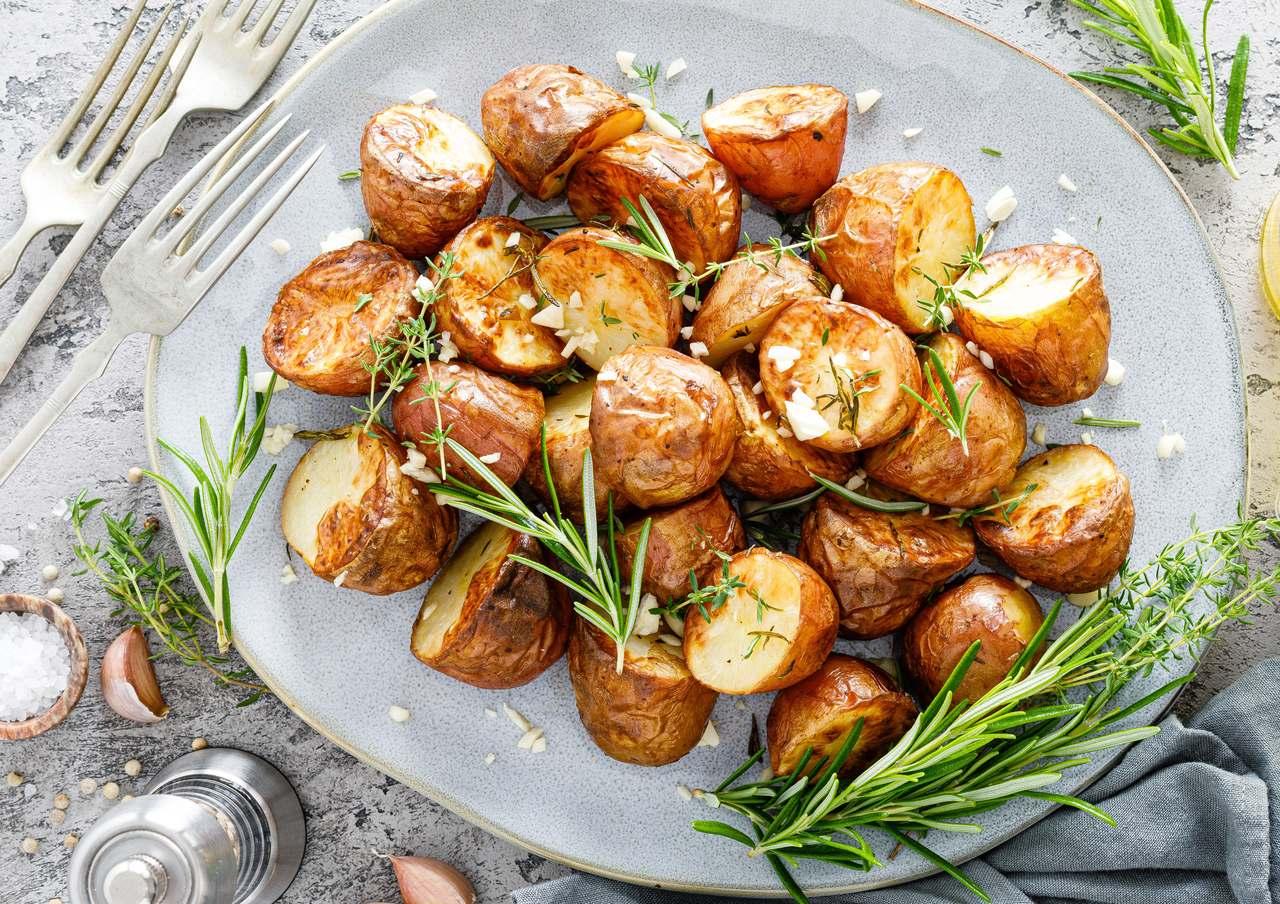 foto da receita Batata com ervas