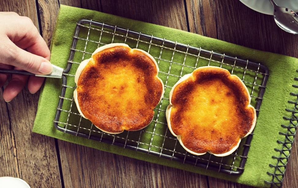 Queijadinha low carb de frigideira