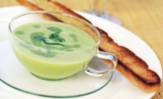 foto da receita Sopa creme de espinafre