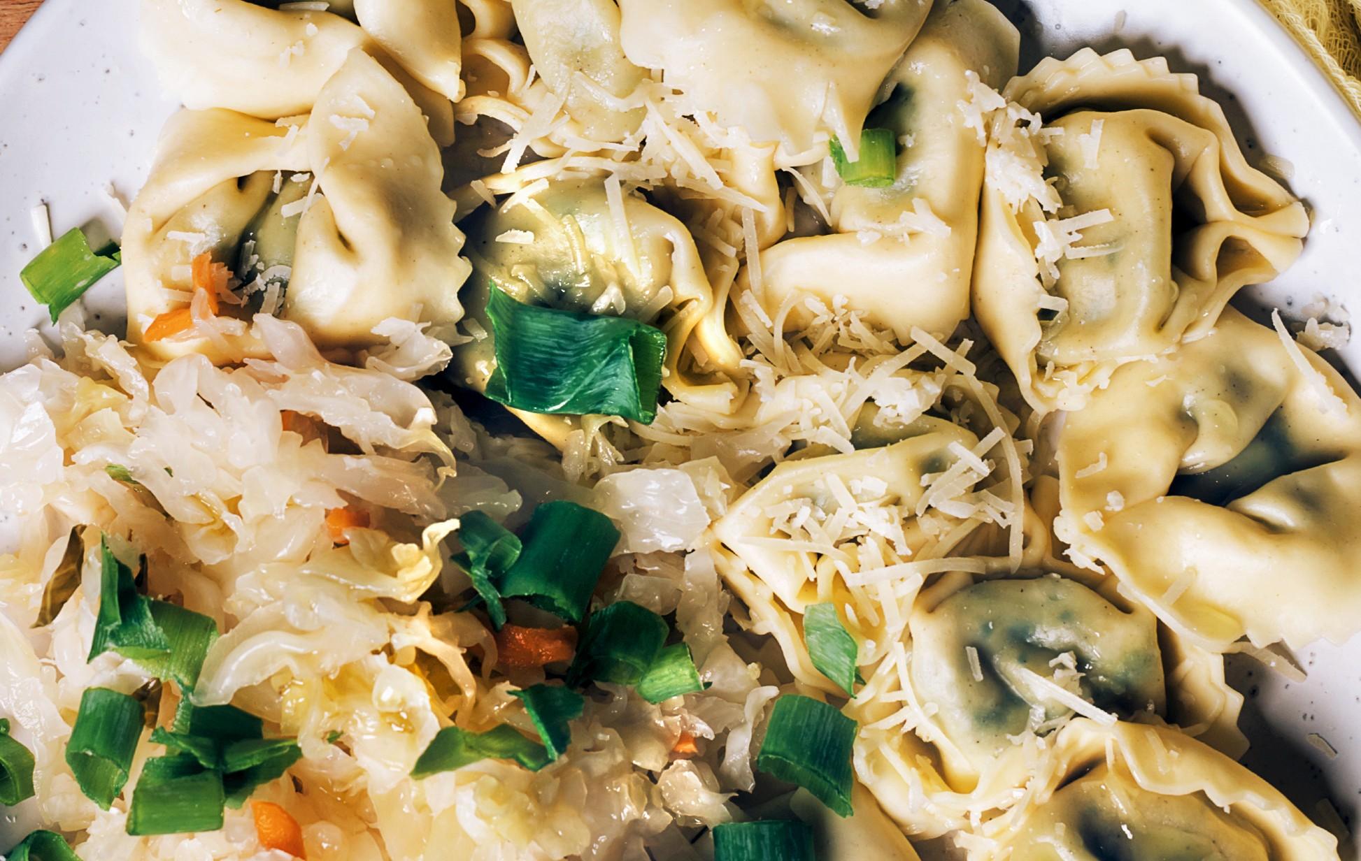 foto da receita Ravioli de Rricota com espinafre