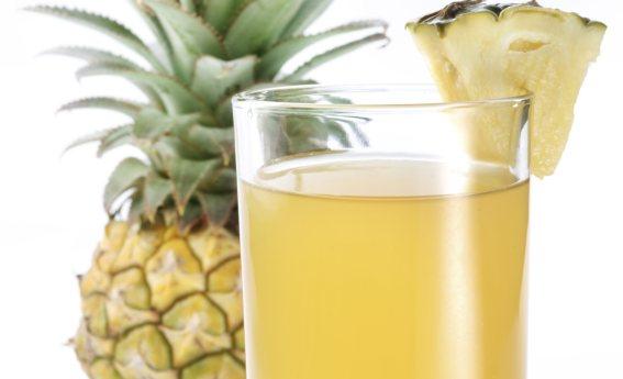 foto da receita Suco de abacaxi