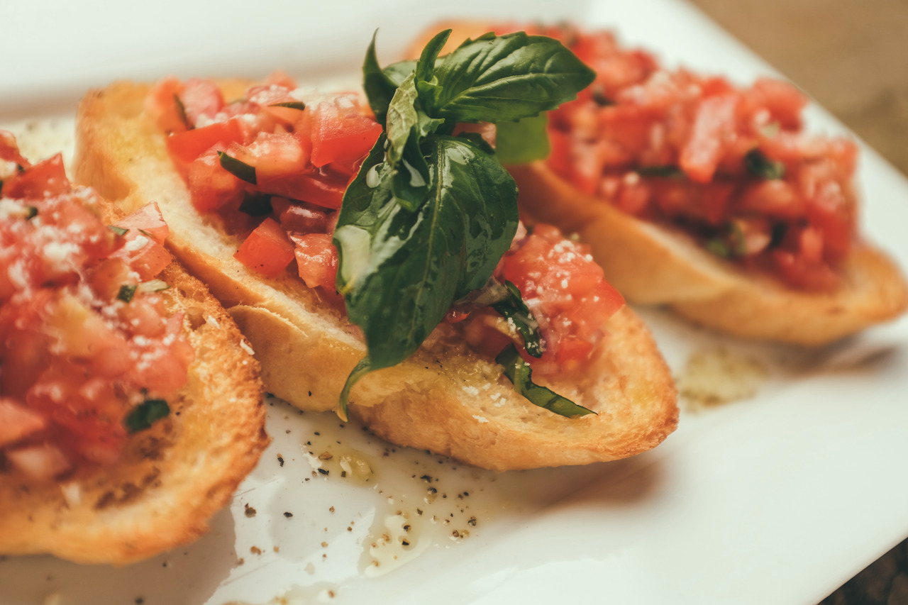 Bruschetta Light