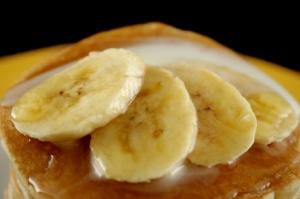 foto da receita Bolo de banana com farofa doce